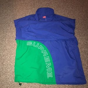 Supreme arc half zip pull over